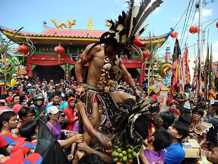 The Supernatural Tatung Parade In Singkawang Indonesia Travel