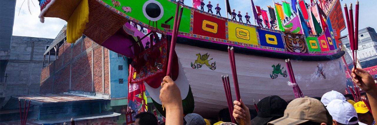 Bakar Tongkang Festival 2018 in Bagansiapiapi Riau